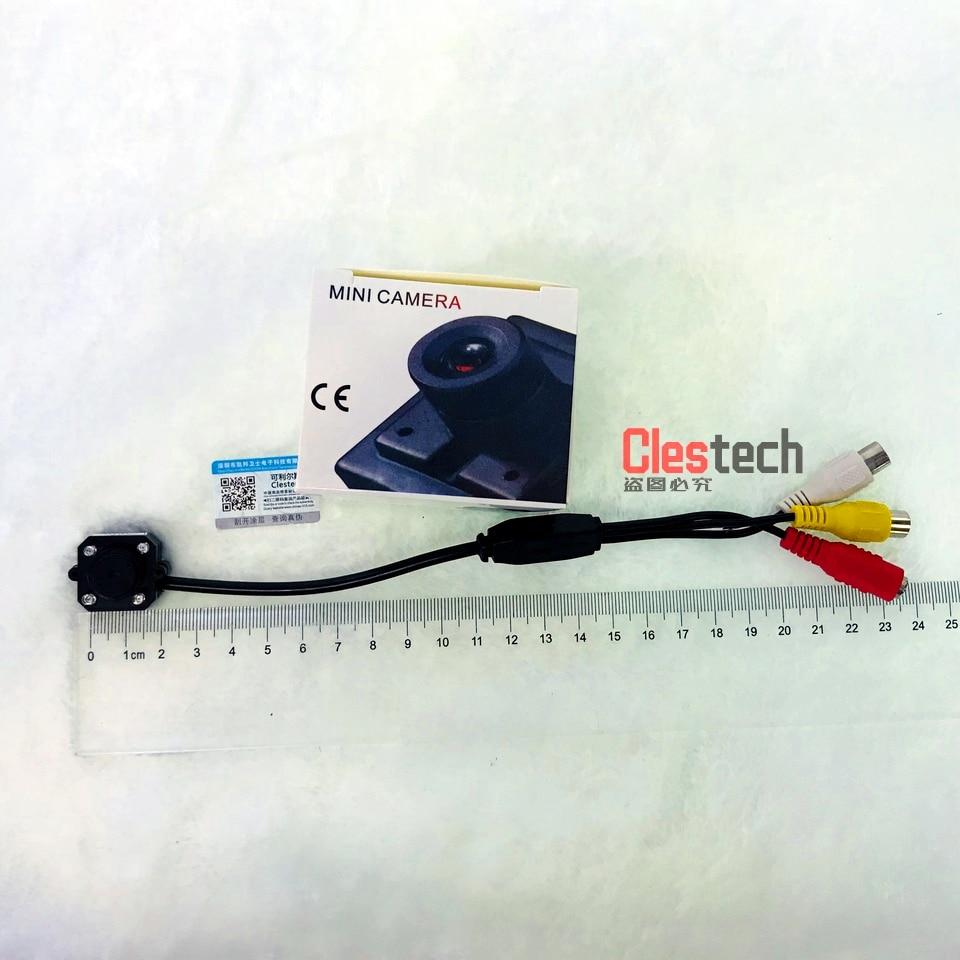 Väga Mini 1 / 4cmos 700tvl Hd mikrokaamera Audio Mic 4tk Led - Turvalisus ja kaitse - Foto 4