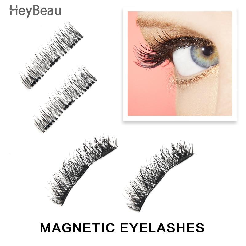 Hot Seller Thicker Reusable False Eyelashes Handmade No Glue 3