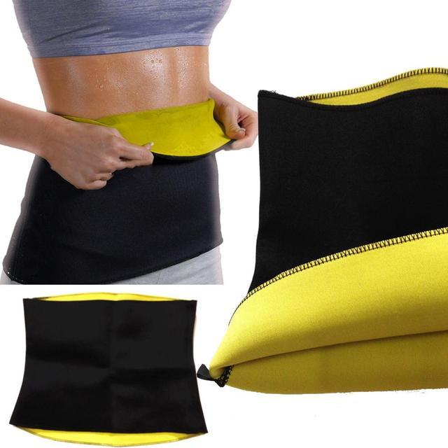 KLV Unisex Health Neoprene Slimming Body Yoga Sweat Shaper Wrap Sauna Waist Slimmer Controlling Weight Scoliosis Correction Belt 5