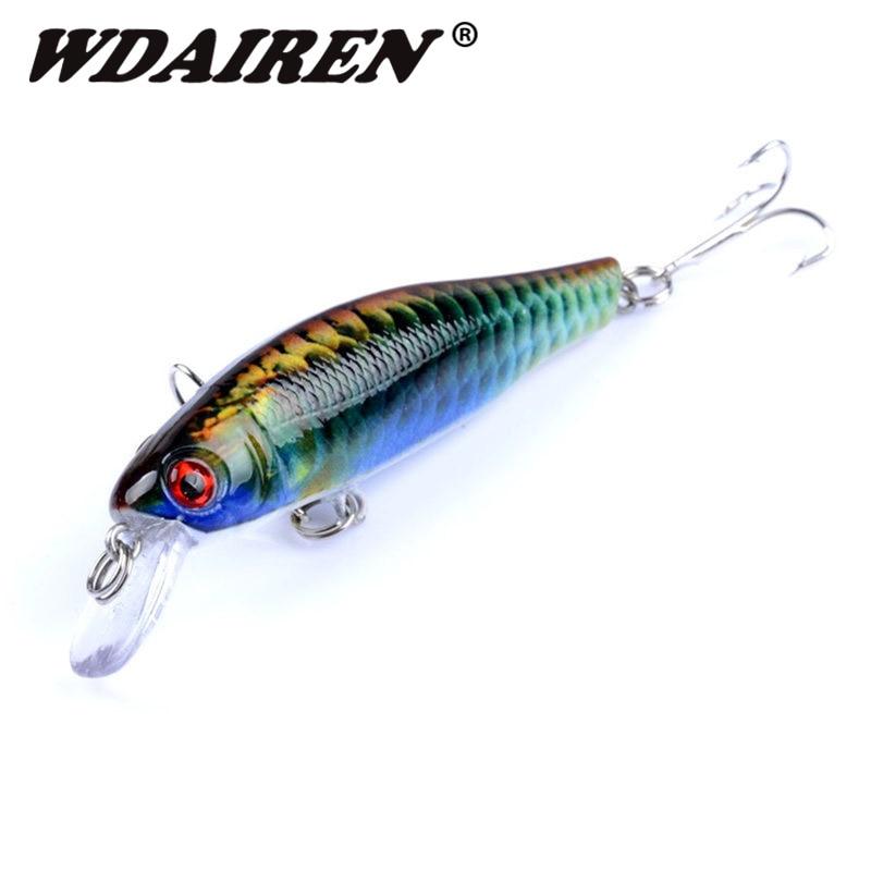 1 st 8,5 cm 8,5 g flytande Minnow Wobblers fiske Lure Artificiell hård bete karp Bass Lures Crankbait Pesca Fiskehantering FA-381