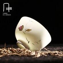 Chinesischen Stil Delicate Handmade 70 ml Kleine Kung Fu Teetasse Jingdezhen Keramik Tee schüssel Handbemalten Porzellan Likörwein tasse