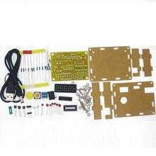 HAILANGNIAO 1 STKS DIY Kits 1Hz 50 MHz Kristaloscillator Tester Frequentie Counter TESTER Meter Case Beste Prijs duurzaam DIY Led Kit