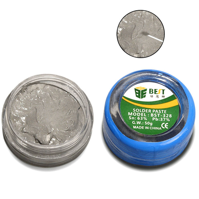 1Pc Tin Paste Lead Soldering Aid Accessories Solder Paste Soldering Fulx For Bga Rework Station Bga Reballing Station