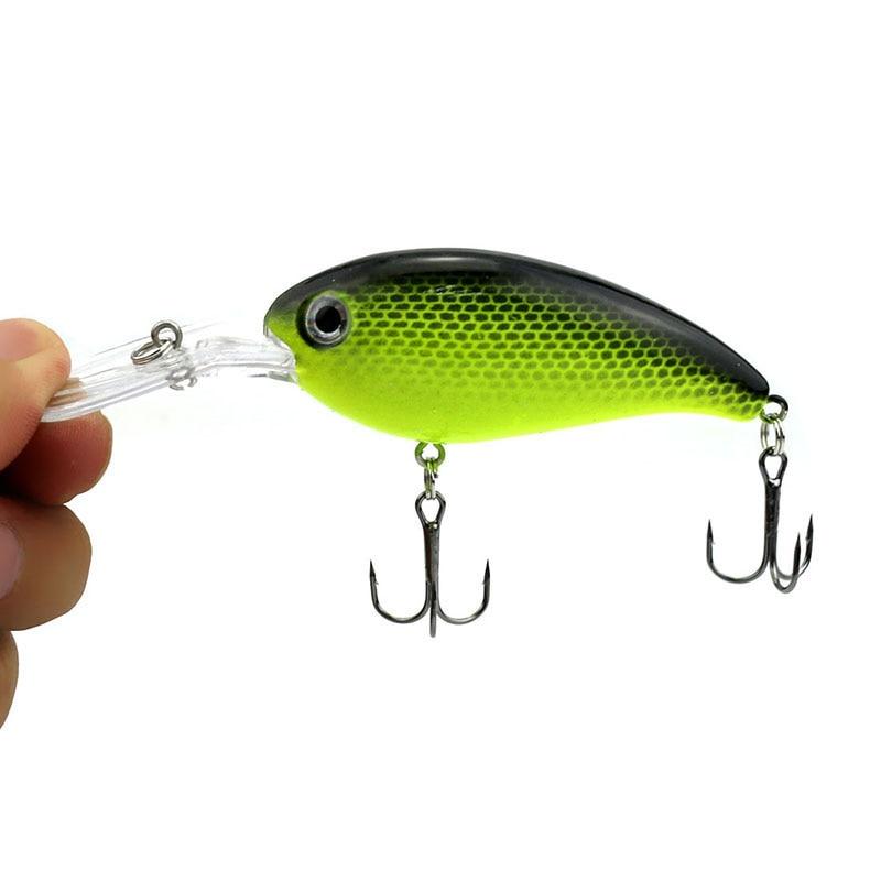 1pcs 14g 10cm Crank Fishing Lure Hard Swimbait Bass 10 Colors Wobbler isca artificial Crankbait Fishing wobblers WQ195