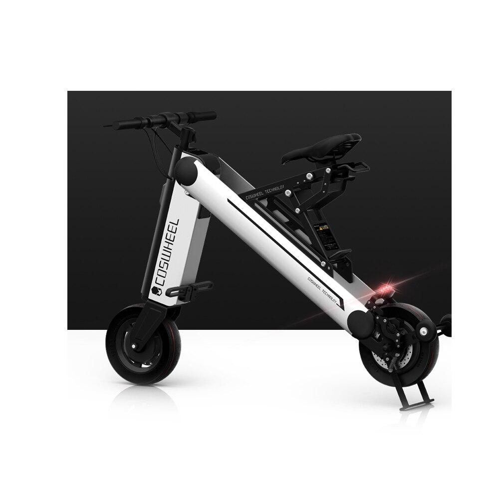 COSWHEEL A-ONE X 10 pulgadas 30 KM Scooter Eléctrico plegable portátil Scooter de movilidad de los adultos de la bicicleta eléctrica