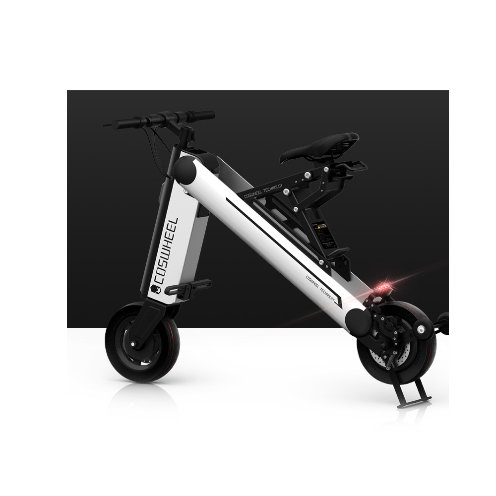 COSWHEEL A-ONEX  40KM Foldable Electric Scooter Portable Mobility Scooter  Adults Electric Bicycle foldable electric scooter 48v 350w 8a portable mobility scooter electric two wheeled vehicle electric bicycle et scooter