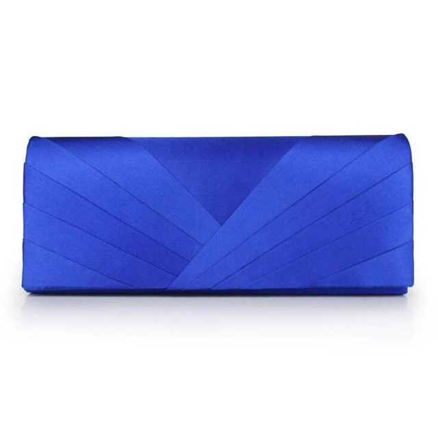 Luxury Elegant Evening Clutch Bag Party Purse Simple Wedding Bags Wallets Fashion Bridal Satin Hand Bags Phone CLutches ZD477