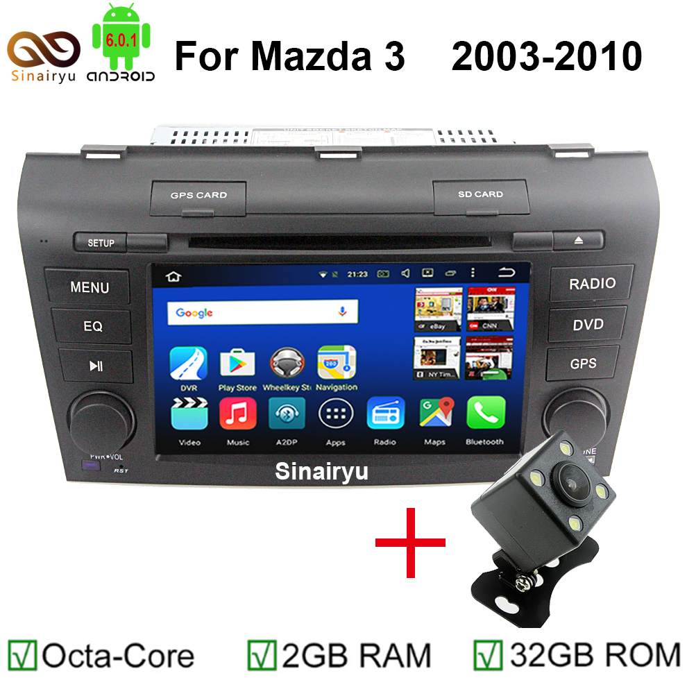 hd 1024x600 android 6 0 octa core 2gb ram car dvd player. Black Bedroom Furniture Sets. Home Design Ideas