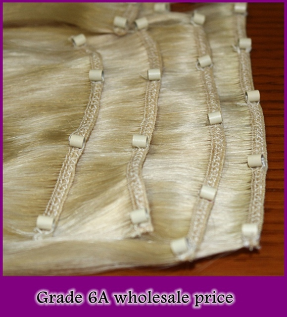 Wholesale Price Grade 6a100gpack Silk Striaht Micro Beads Sew In