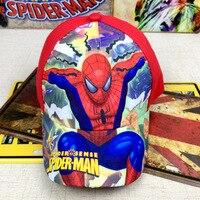 Janvancy Niños Gorras de béisbol Niñas Superman 3D imprimir snapbacks sombreros para niños Niños Niñas niños 3-8 edades tamaño ajustable algodón