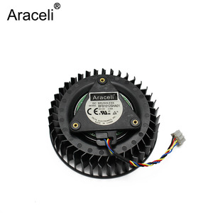 1PCS FAN FOR DELTA BFB1012SHA01 12v 2.4A Reference R9 390x AMD R9 390X R9 390 X fan Graphics Card(China)