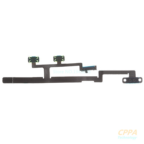 Original New Power ON OFF Switch Volume Button Flex Cable Ribbon Repair Parts Replacement For iPad Mini 2/3