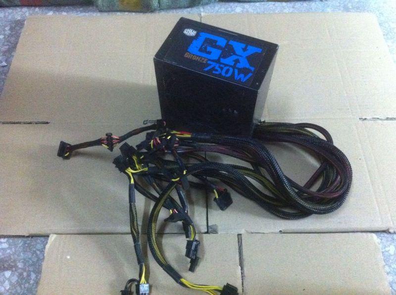 ФОТО Original Used GX750W RS-750-ACAA-D3 bronze power 750w rated