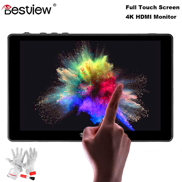 Desview(Bestview) R7 Touch Screen Monitor 7Inch IPS 1920*1200 4K HDMI On Camera Field DSLR Monitor for Canon Nikon & Stabilizer