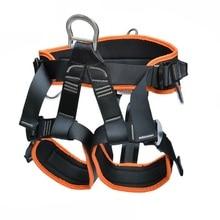 1500 кг открытый ремень безопасности для альпинизма скалолазания кабель Жгут Веревка подъемная стропа цепь