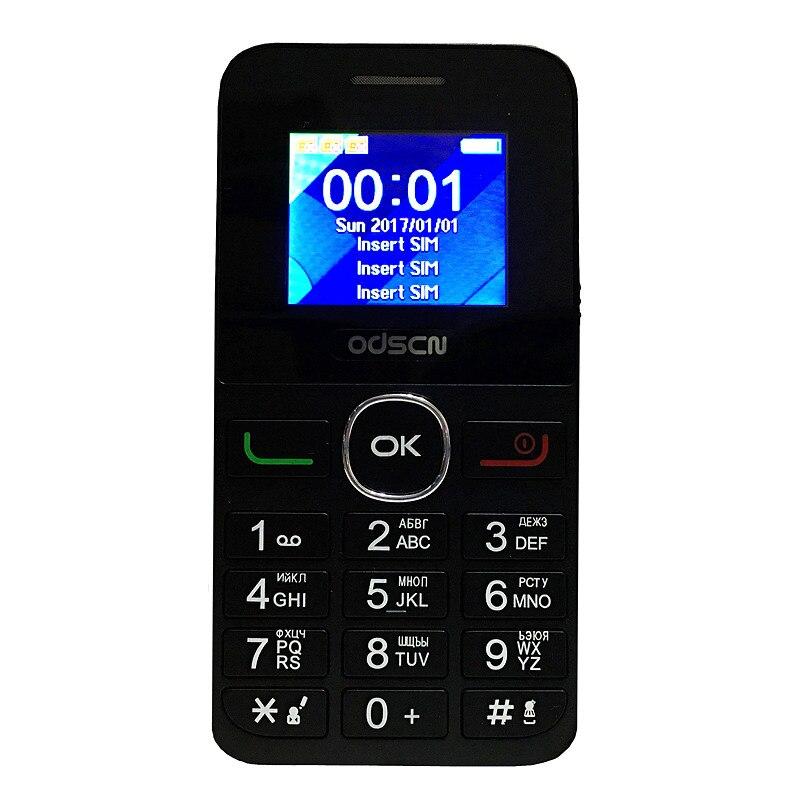 3 schede SIM radio Portatile mp3 del telefono mobile della Cina a buon mercato Telefoni Cellulari GSM tastiera russa originale ODSCN T350
