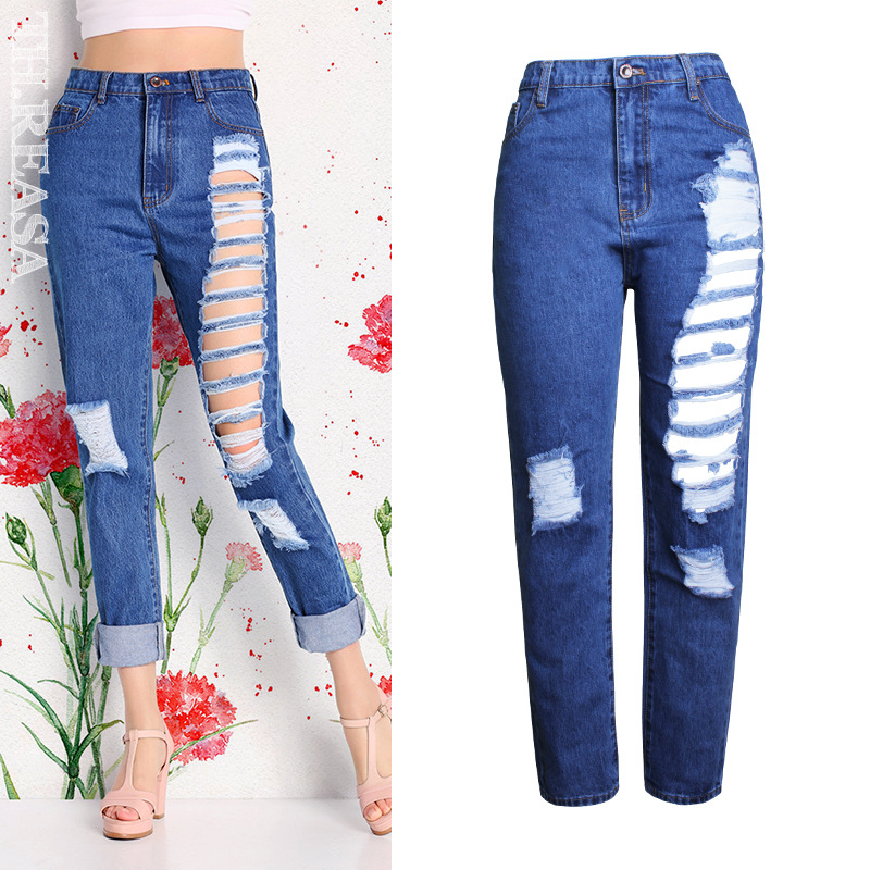 Online Get Cheap Boyfriend Jeans Style -Aliexpress.com | Alibaba Group