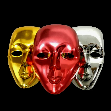 цена на Ghost Mask Magic Tricks Mask Quick Change For Magician Stage Party Gimmick Illusion Funny Magia