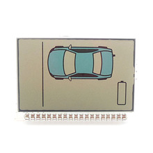 Sheriff ZX950 ЖК-дисплей для Sheriff ZX-950 ЖК-пульт дистанционного управления двухсторонняя Автомобильная сигнализация