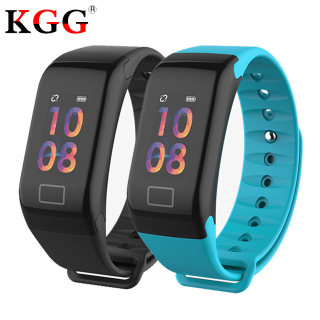 F1 Plus Color Screen Sports Smart Bracelet Blood Pressure Heart Rate Monitor Band Fitness Tracker