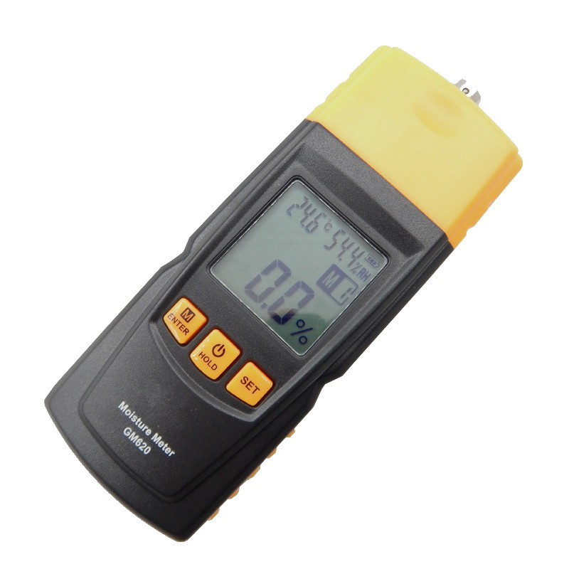 High Quality Digital LCD Display Wood Moisture Tester GM620 Portable Moisture Meter 2~70% Humidity Tester Timber Damp Detector - 3