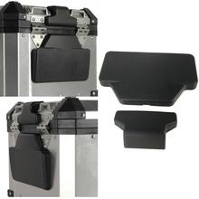Задняя накладка для пассажирской спинки, задний Чехол для багажа, алюминиевый верхний чехол, коробка для спинки, Накладка для BMW F800GS/Adv R1200GS/Adv Adventure