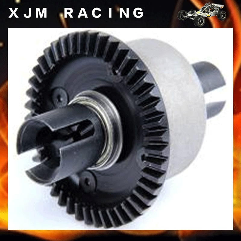 1/5 rc car LT metal rear alloy complete diff gear set fit rovan LT losi 5ive toy parts losi 5ive t hd billet rear hub carriers