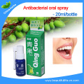 2 bottles Mouth ulcers Qing Guo Antibacterial oral spray to treat smell mouth chronic pharyngitis Fresh breath/mouth herbal