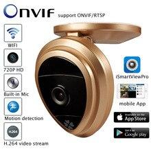 P2p mini ip-камеры wifi 720 P hd wi-fi камера видеонаблюдения ahd камеры видеонаблюдения onvif аудио монитор младенца камера беспроводной