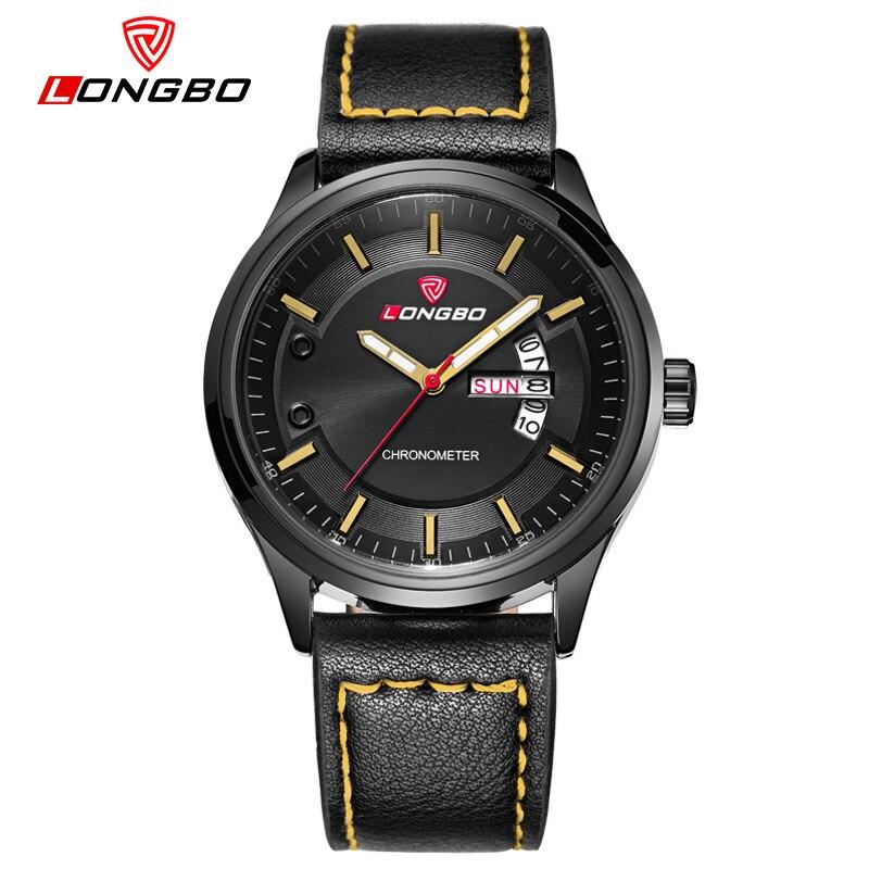 LONGBO simple style men font b watches b font Sports Quartz font b Watch b font