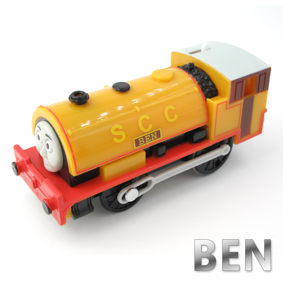 Electric Thomas Train T009E BEN Thomas And Friends Trackmaster Magnetic Tomas Truck Car Locomotive Engine Railway Toys for Boys