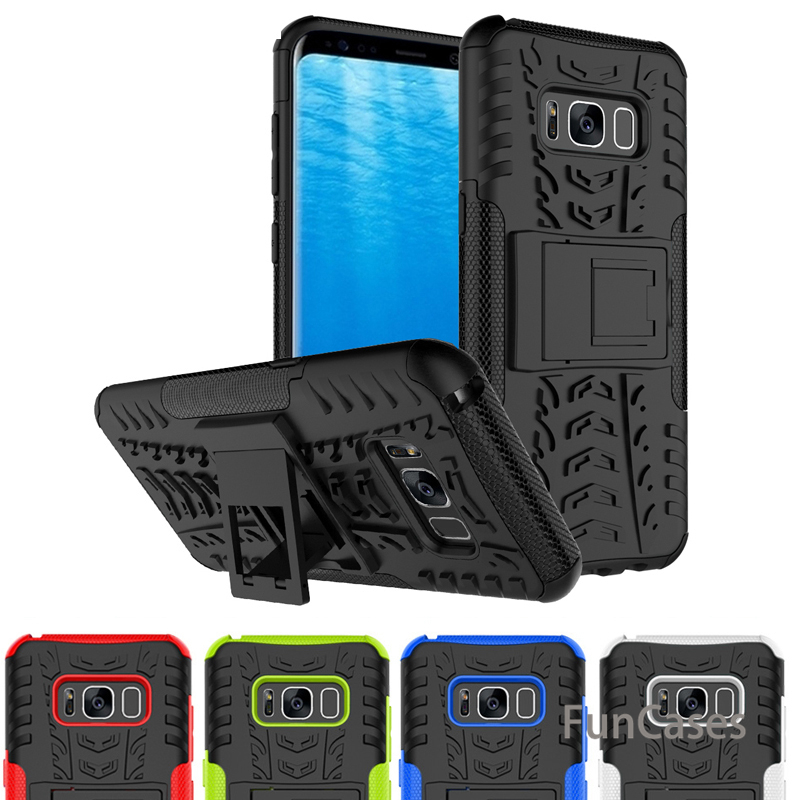 For Samsung Galaxy S8 Plus A3 A5 A7 2017 <font><b>J3</b></font> J5 J2 J7 Prime J1 <font><b>2016</b></font> Cases Heavy Duty Armor Shockproof Hybrid TPU PC Case Cover image