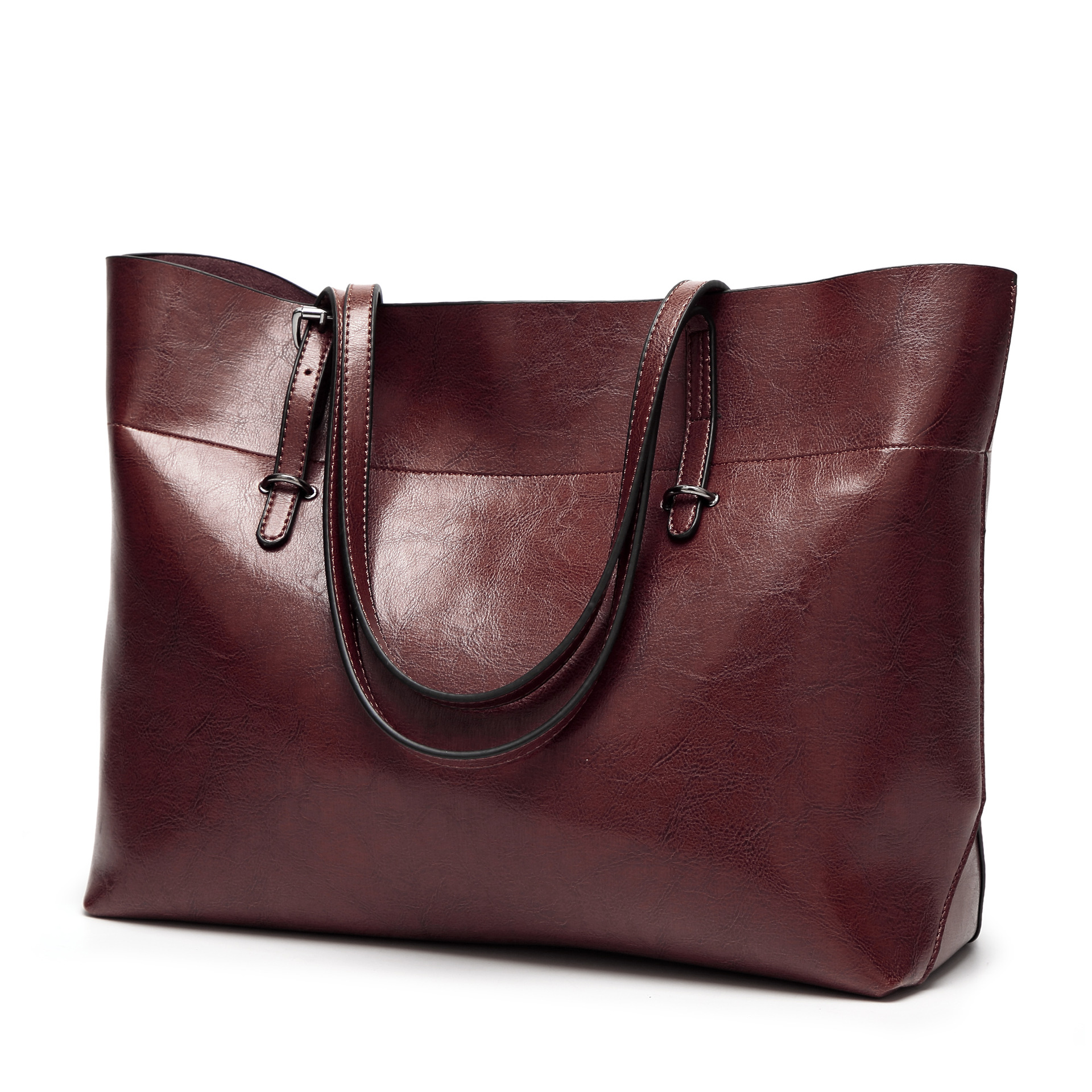 bc51059e181d FiveloveTwo Luxury Leather Women Handbags Outlet Female Oil Wax Skin Women  Satchel Tote Crossbody Shoulder Bags Large Purse