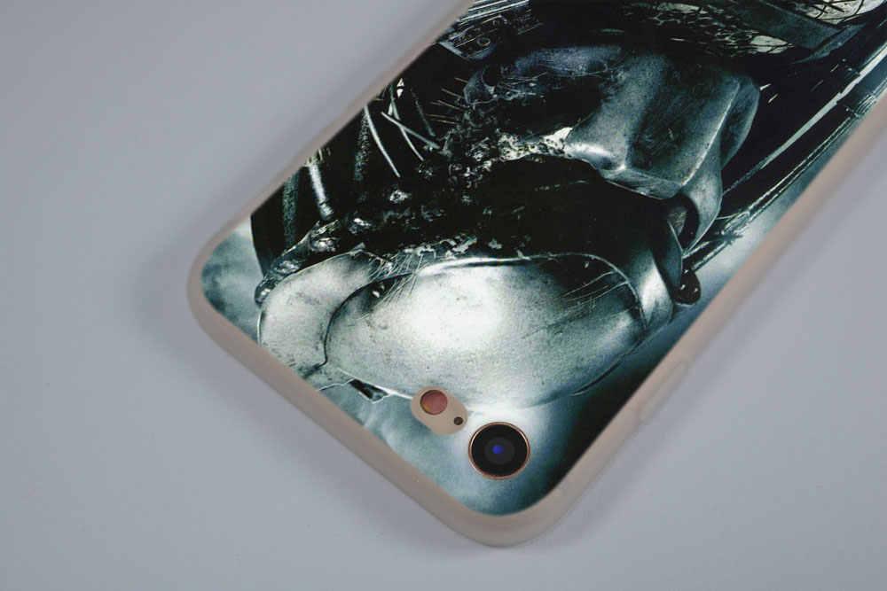 SHELI Alien vs Predator Matt Weichheit Transparent fall abdeckung für iPhone X XS XR MAX SE 5 5 s 6 6 s 7 8 Plus