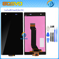 LCD Screen Display and Touch Screen Digitizer assembly For Sony for Xperia Z1s L39T C6916 free shipping + free tools