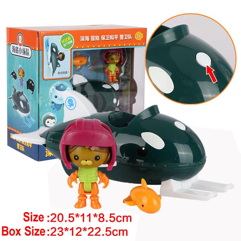 Octonauts Play Set Toy Figure 5 Kids Toddler Gift Boy Girl Pretend New