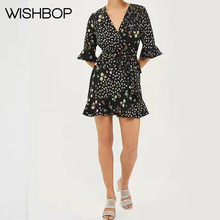 7f824cedfcf41 Buy wrap around dresses and get free shipping on AliExpress.com