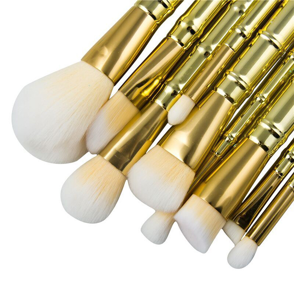 New 9PCS Makeup Brush Set tools Cosmetic Toiletry Kit Make Up Brush Set High Quality Hot sale Facial Cheek Professional makeup new style professional women lady facial makeup tools cream foundation soft type cosmetic make up brush easy carry