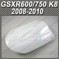 New For GSX R600/750 K8 For Suzuki GSX R600/750 K8 2008 2010 09 Motorcycle Rear Pillion All White Injection ABS Seat Cowl Cover
