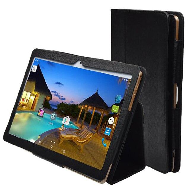"""Newkita N960 Оригинальный 9.6 """"IPS 3 Г Планшетный ПК MT8752 Окта Ядро 4 Г RAM 32 ГБ ROM Две СИМ-Карты Android 5.1 GPS Планшетный добавить Флип случае"""