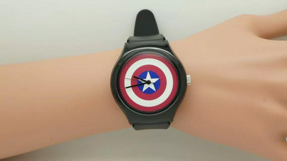 Dropshipping 1pcs Fashion Avengers Children's Watches Age Of Ultron Watch Sports Watches Couple Gifts Men Relogio Feminino Women Military Watch