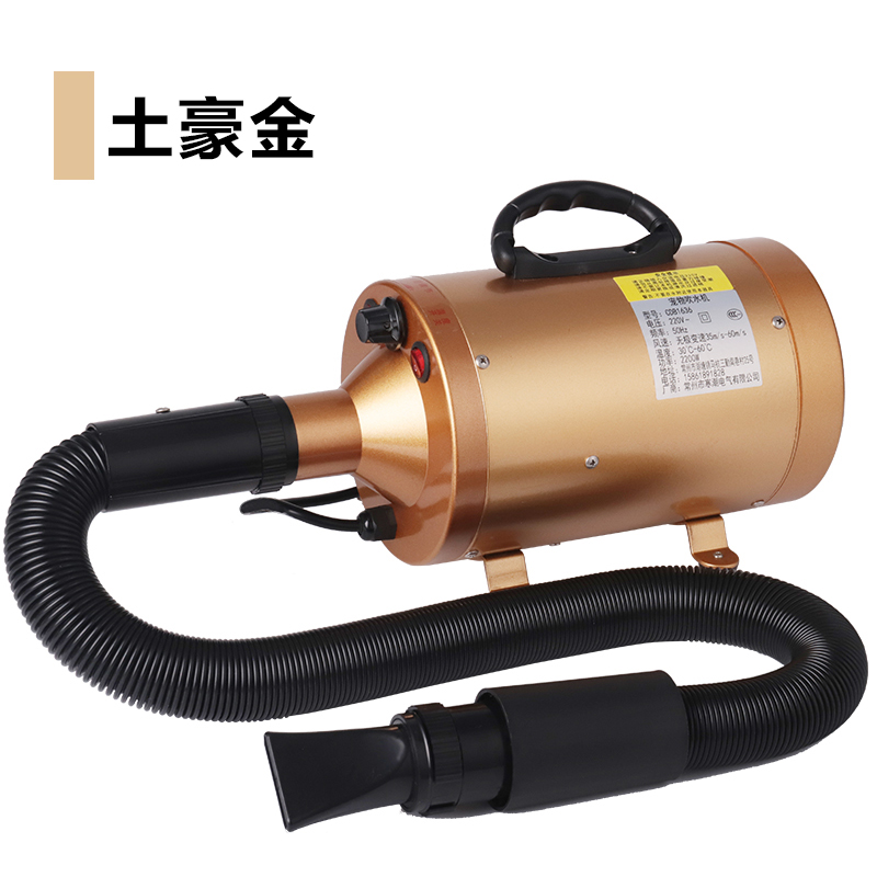 Pet Professional Electric Water Machine 2200W Mute Dogs Hair Dryer Pet Store Hairdryer Large Dogs Hair Blower Machine Heater