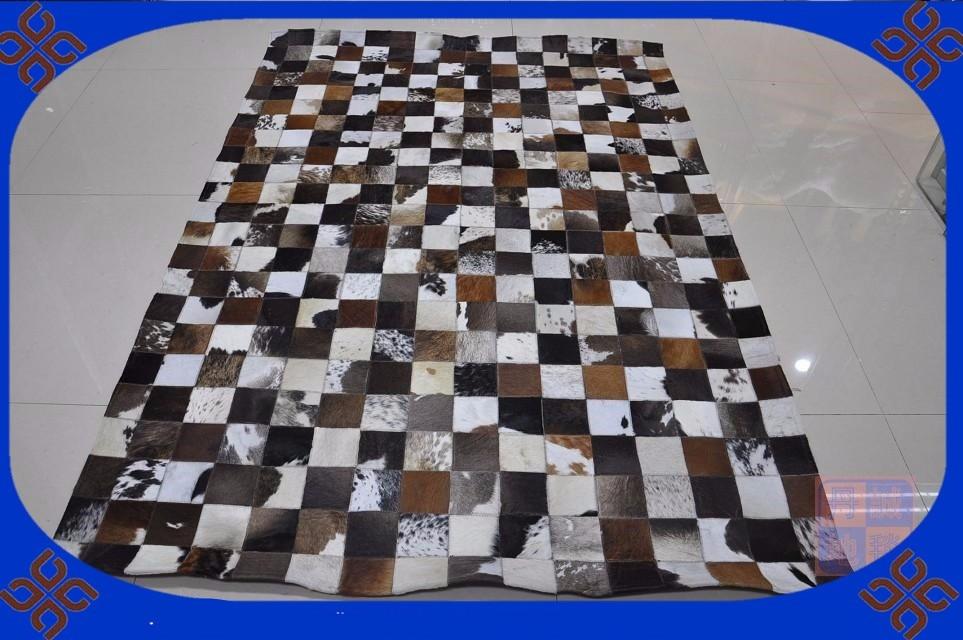 Stoomreiniger Voor Tapijt : Gratis verzending natuurlijke echt koeienhuid tapijt
