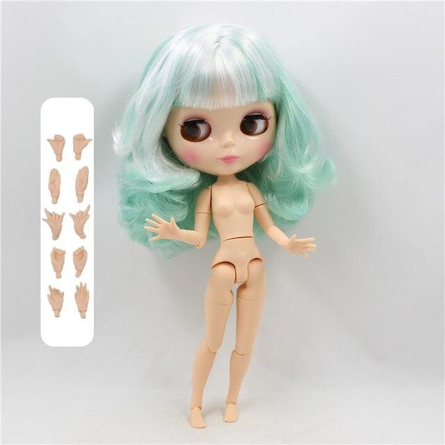 factory blyth doll 150BL136 white hair white skin joint