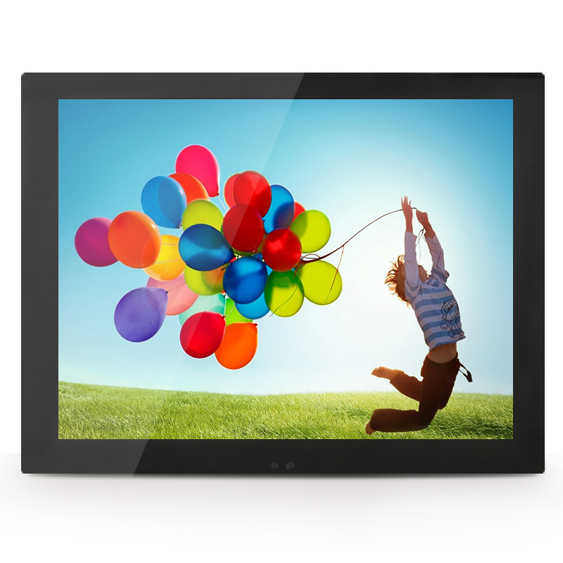 ФОТО 10 inch / 10.4 inch vga/dvi interface metal shell non - touch embedded frame industrial and household use lcd monitor/display