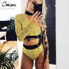 Two Piece Backless Crop Top Swimsuit