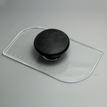 (6pcs/lot)Free Shipping FDA High Quality Transparent Plastic Cake Fondant Smoother with Scale