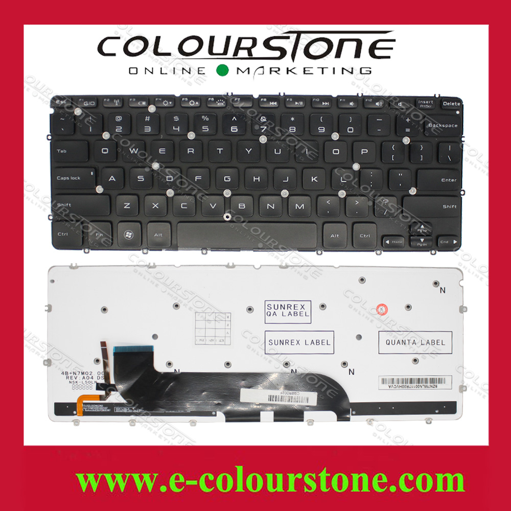 xps13 US layout laptop keyboard for DELL XPS 13 9333 Keyboard 9343 9350 L321X L322X notebook Black keyboard Win7  7xinbox 6 cell 6710mah 7 6v 56wh laptop battery for dell xps 13 9343 9350 90v7w 090v7w jhxpy 5k9cp jd25g