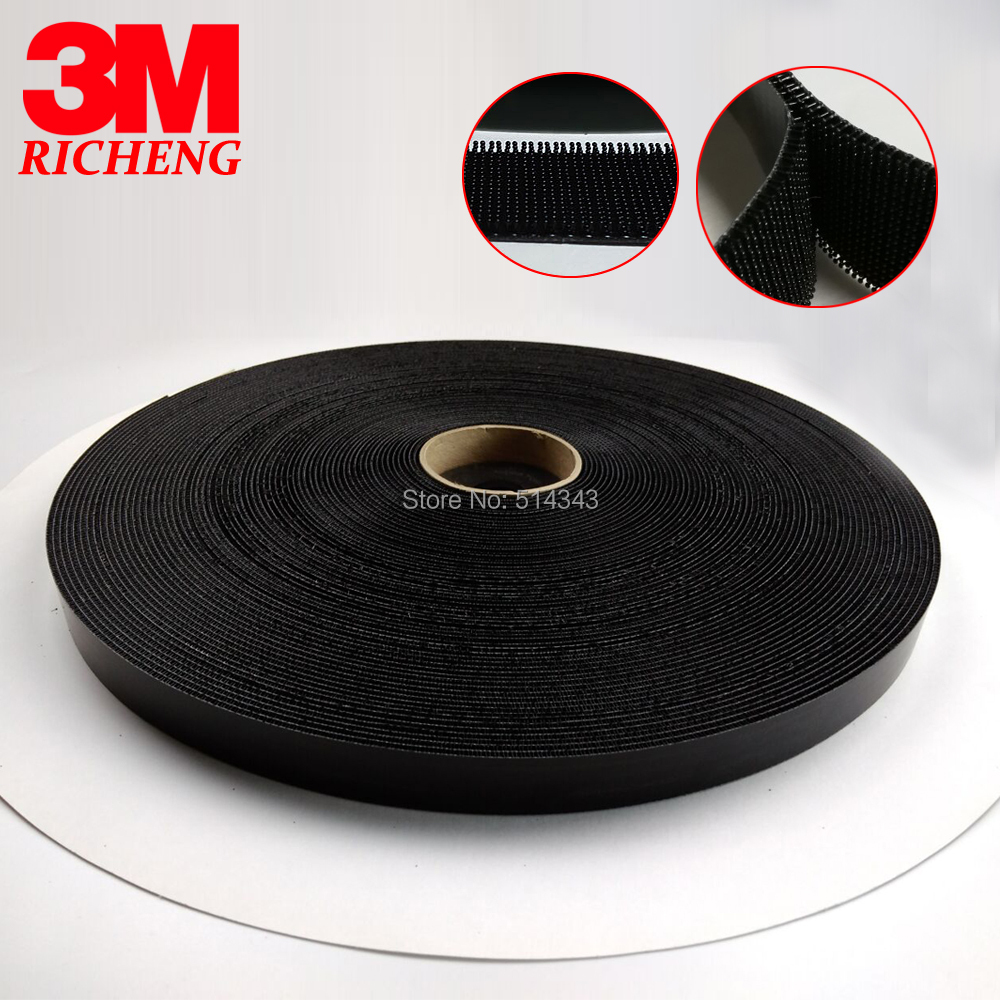 Non adhesive 3M Waterproof Hook And Loop Tape SJ3541, size 1in*50yards Non adhesive 3M Waterproof Hook And Loop Tape SJ3541, size 1in*50yards