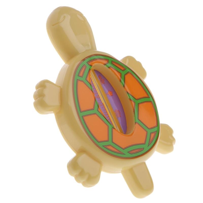 Bébé infantile baignoire température de l'eau testeur Animal dessin animé tortue thermomètre sans BPA